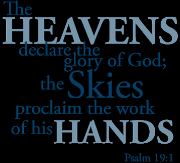 BLCF: heavens declare the Glory of GOD