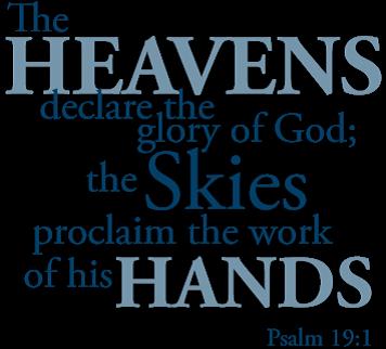 BLCF: heavens declare the Glory of GOD