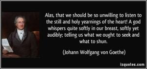 BLCF: holy-yearnings-of-the-heart-a-god-johann-wolfgang-von-goethe