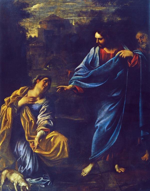BLCF: Annibale_Carracci,_Cristo_e_la_Cananea,_1595,_Parma