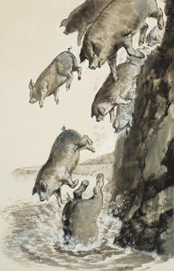 BLCF: herd-of-pigs
