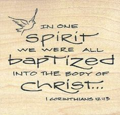 BLCF: baptised in one Spirit