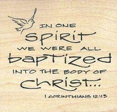 BLCF: baptised in one Spirit