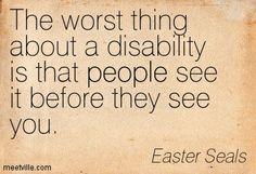 BLCF: disability