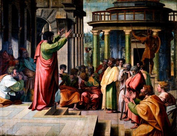 BLCF: raphael_st_paul_preaching_in_athens_1515