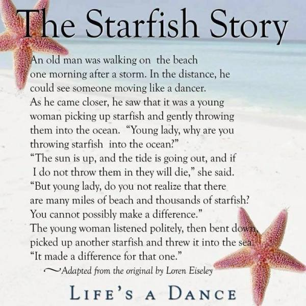 BLCF: The Starfish Story