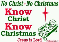 BLCF: Know-Christ-Know-Christmas