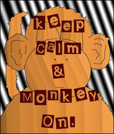 BLCF: keep-calm-and-monkey-on-wordpress