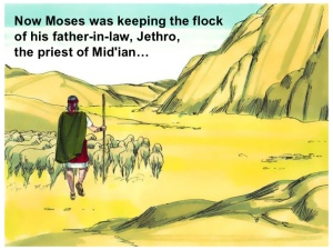 BLCF: Moses-near-Mt-Horeb