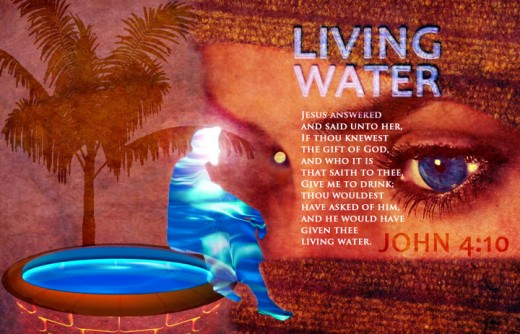 This image has an empty alt attribute; its file name is living-water-jesus.jpg