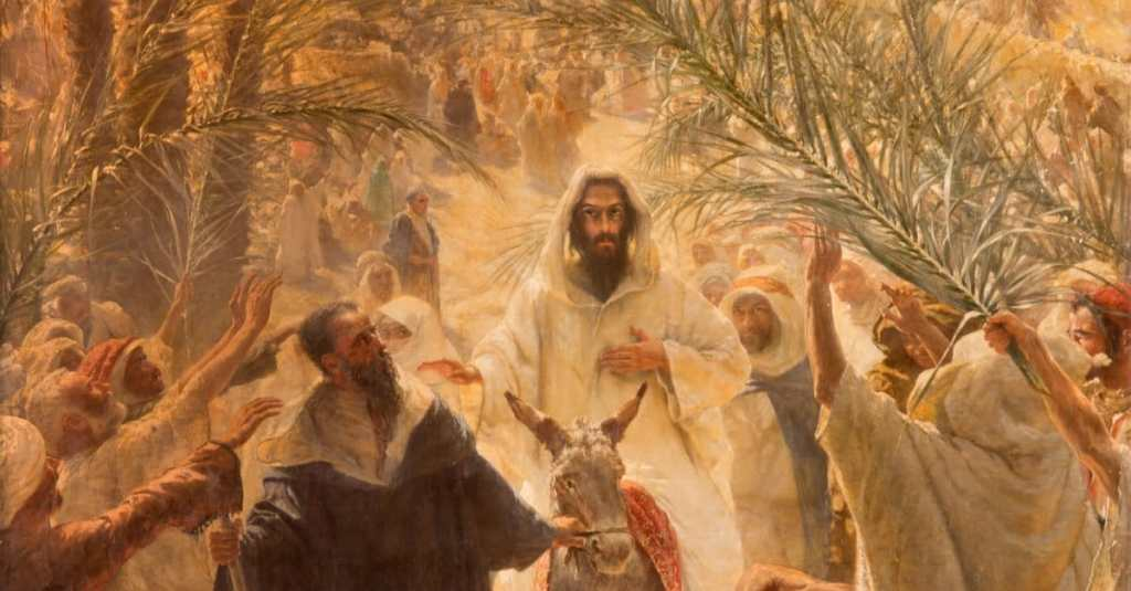This image has an empty alt attribute; its file name is palmsunday-jesus-painting-thinkstock-sedmak.jpg