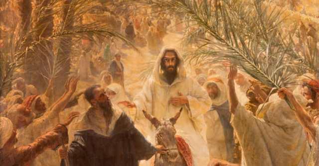 PalmSunday-Jesus-Painting-thinkstock-sedmak