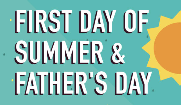 First Day Of Summer & Fathers Day 2021