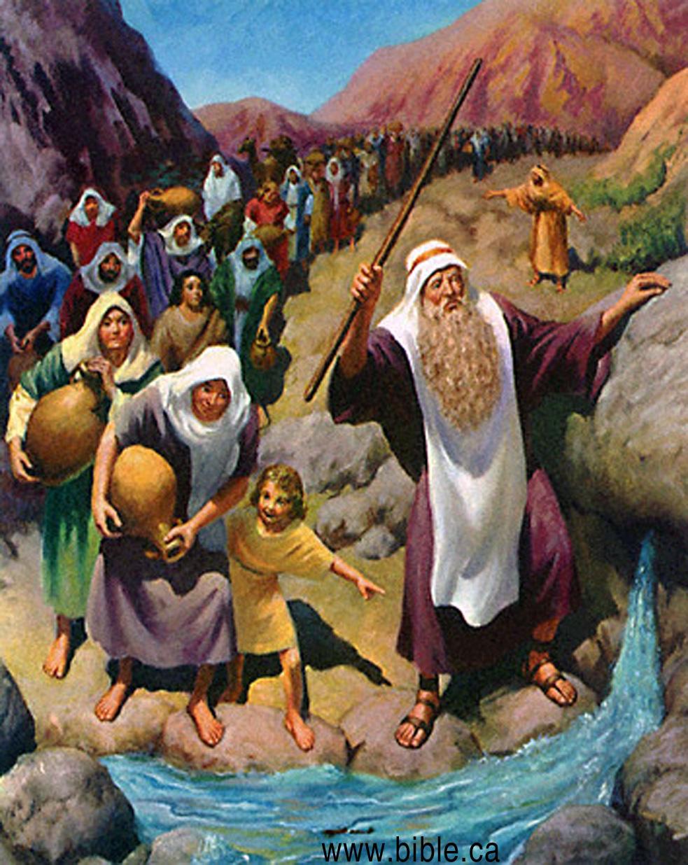 Exodus 17 1-7