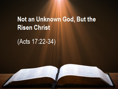 Acts 17 22-34